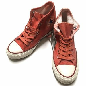 Converse Lux Mid Carnival Red Size 5 Hidden Wedge